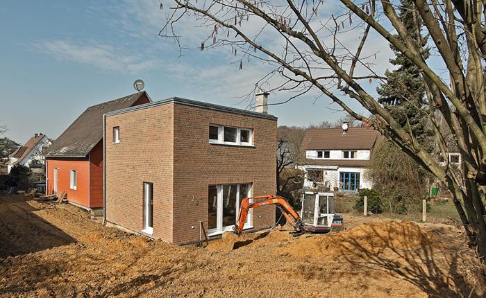 Anbau an ein Siedlungshaus in Gießen
